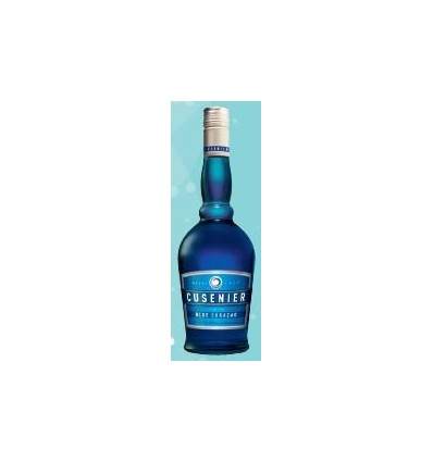 LICOR CUSENIER BLUE CURACAO 700CC x 1 un.