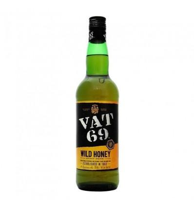 WHISKY VAT 69 HONEY 750CC x 1 un.