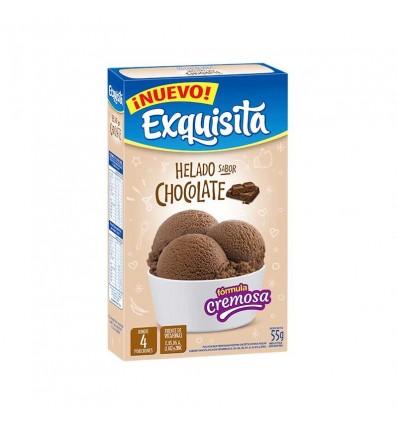 HELADO EXQUISITA CHOCOLATE 55GR x 12 un.