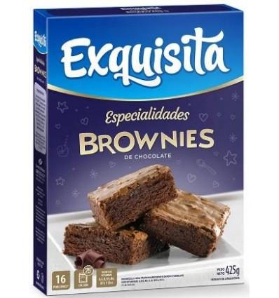 BIZCOCHUELO EXQUISITA BROWNIES 425GR x 6 un.