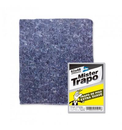 TRAPO DE PISO MR.TRAPO EXT SUAV GRIS 62X48 x 12 un.