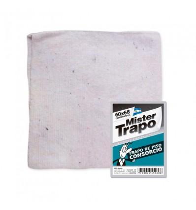 TRAPO DE PISO MR.TRAPO CONSORCIO BCO 60X68 x 12 un.