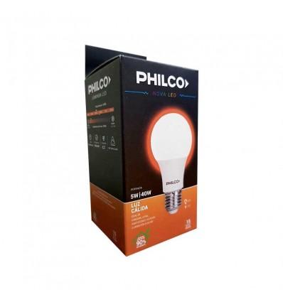 LAMPARA PHILCO LED 5W BULBO LF x 2 un.