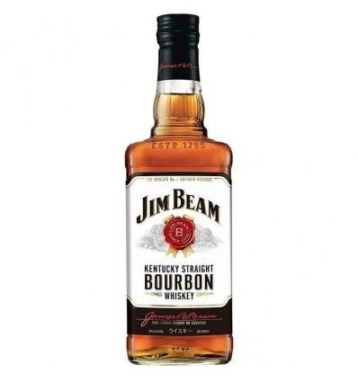 WHISKY JIM BEAM WHITE BOURBON 750CC x 1 un.