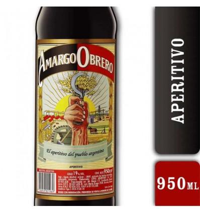 AMARGO OBRERO 950CC x 6 un.
