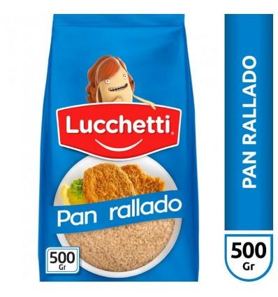 PAN RALLADO LUCCHETTI 500GR x 20 un.