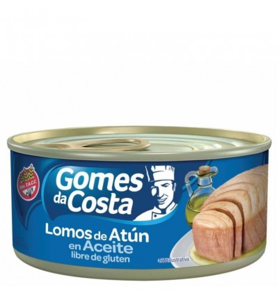 ATUN GOMES DA COSTA LOMO EN ACEITE 170GR x 6 un.