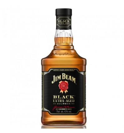 WHISKY JIM BEAM BLACK LABEL 40% 750CC x 1 un.
