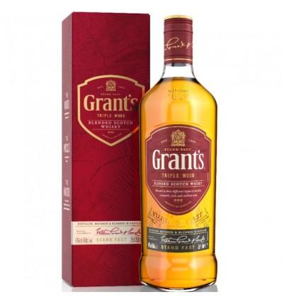 WHISKY GRANTS TRIPLE WOOD 750 EST x 1 un.