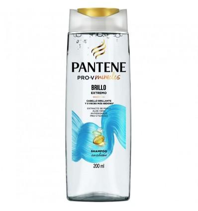 SH.PANTENE MAX PRO-V BRILLO EXTREMO 200CC x 6 un.