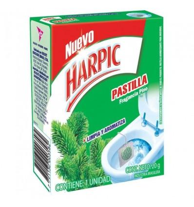 DEO.P/INOD HARPIC PASTILLA PINO 20GR x 12 un.